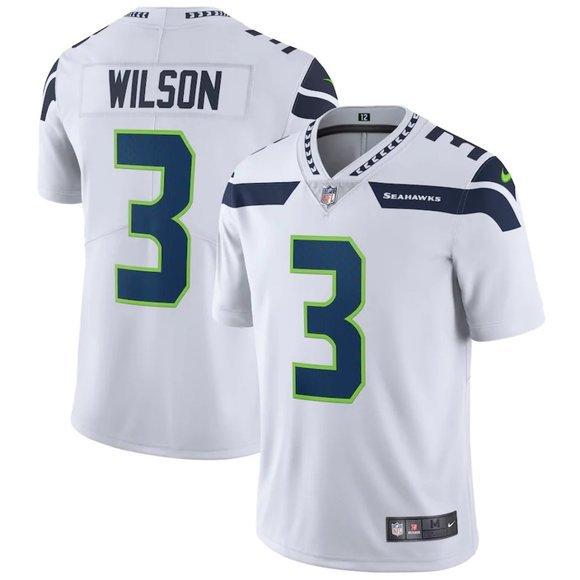 ⛣ Men NFL Seattle Seahawks Russell Wilson Jersey
